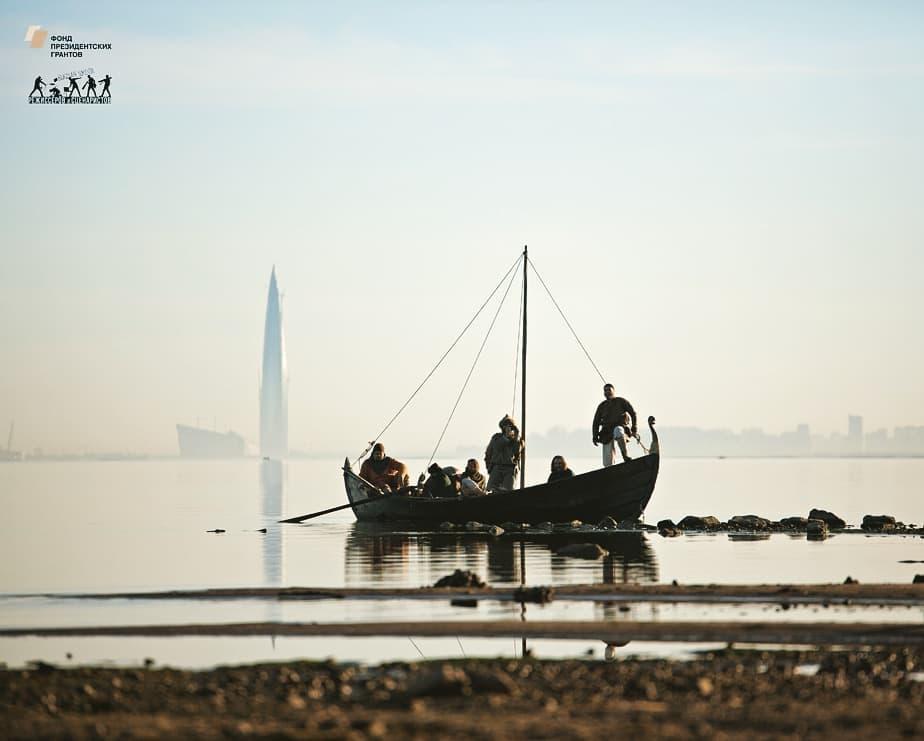26.05.2018 Вольгаст со товарищи на заливе (Песни балтийских славян)