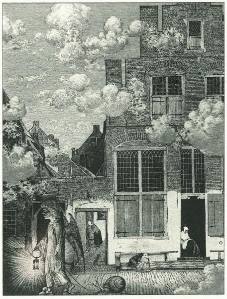Vermeer's Street in Heaven