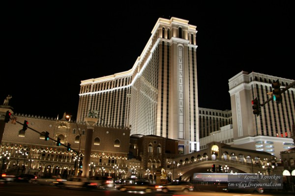 Отель-казино Palazzo и Venetian