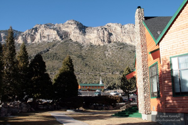 Отель Resort on Mount Charleston