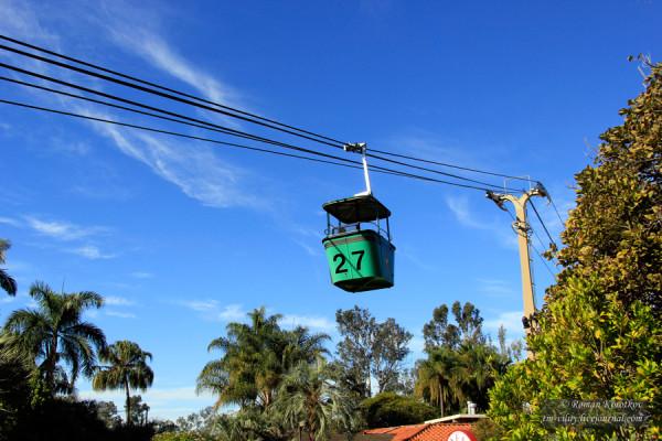 Зоопарк Сан-Диего, канатная дорога