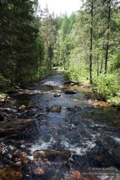 Таганай: речка Большая Тесьма