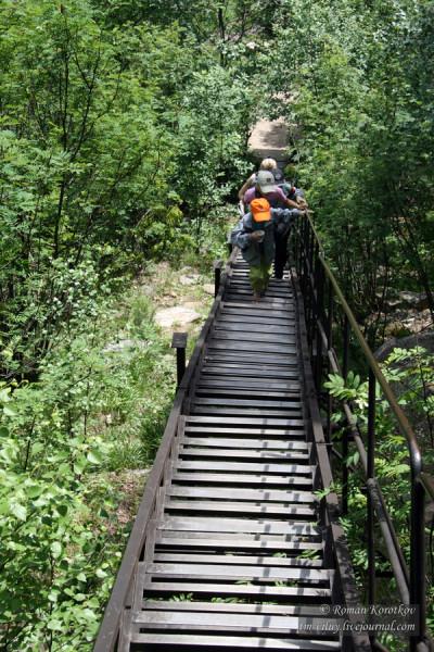 Таганай: лестница 200 ступеней