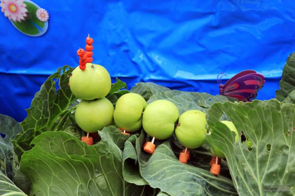 Сценарий выставка плодов и цветов