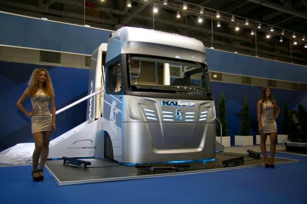 Новая кабина КАМАЗ-2020