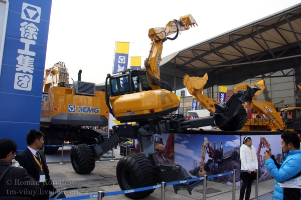 bauma China 2012: XCMG