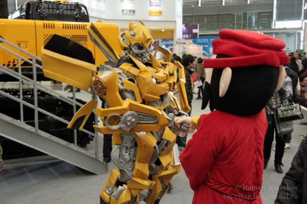 bauma China 2012: transformer