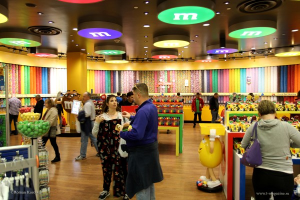 M&M`s World в Лас-Вегасе
