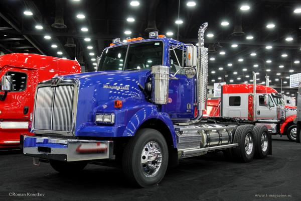 Выставка грузовиков MATS 2016