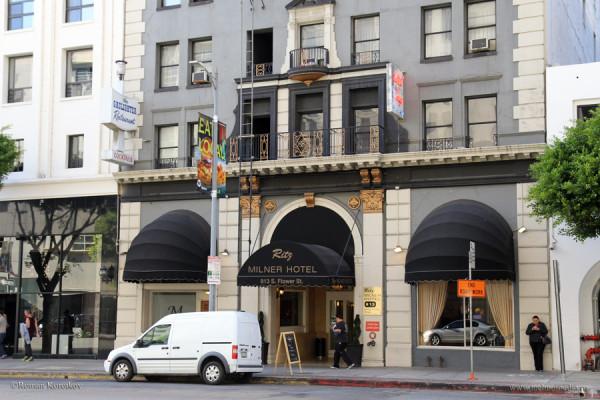 Лос-Анджелес, Ritz Milner Hotel 2*