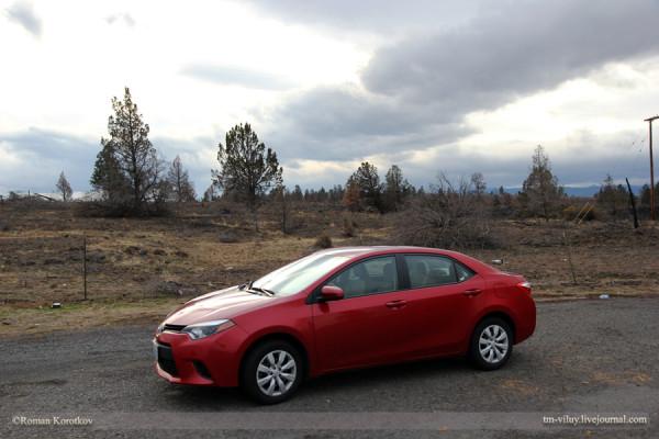 Тест-драйв Toyota Corolla: из Сиэтла в Лос-Анджелес