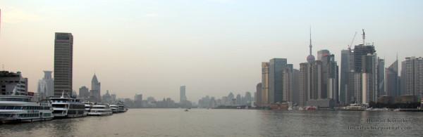 Река Хуанпу и район Pudon