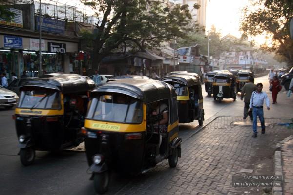 Индийское такси - тук-тук