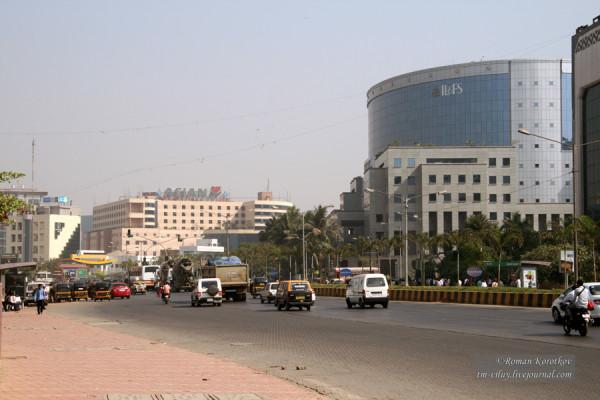Район Бандра Курла в Мумбаи