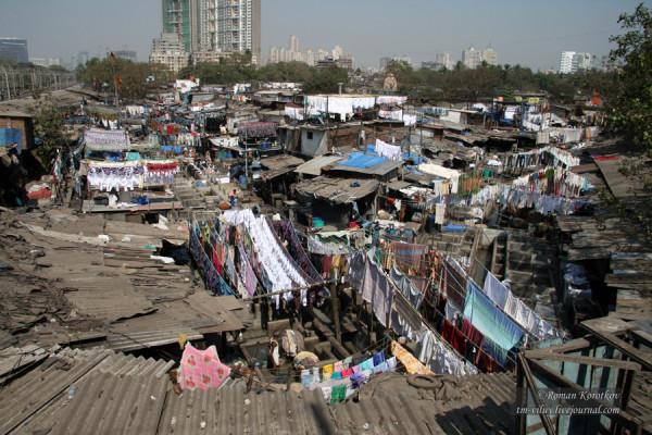 Прачечная Dhobi Ghat
