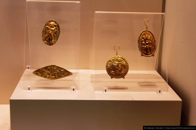 Экспонаты музея в Филиппах 1