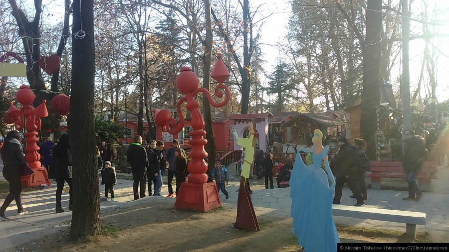 Рождественская ярмарка в Драме - Онируполи 5