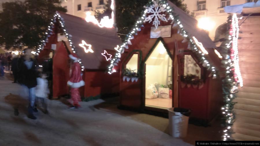 Яркая Площадь Аристотеля в Салониках 3