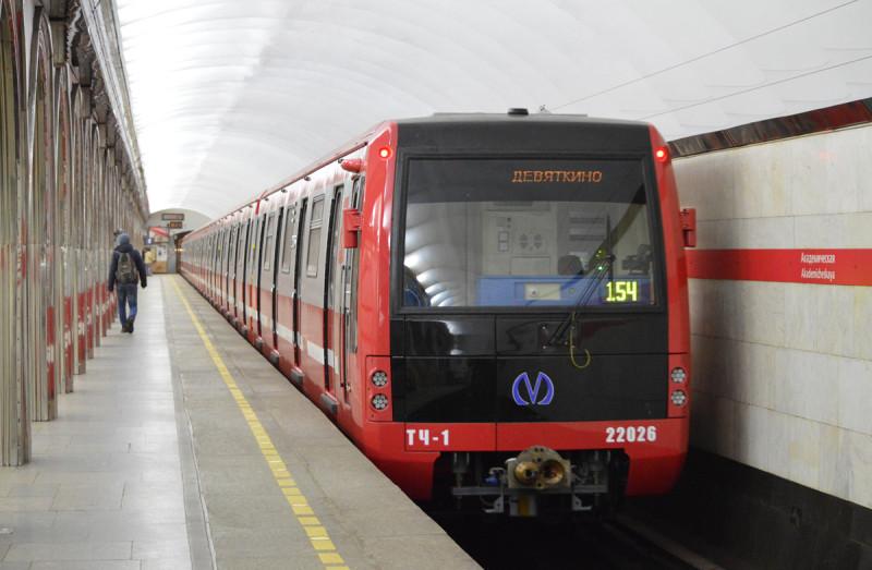Поезд метро модели 81-722.1/723.1/724.1 «Юбилейный»