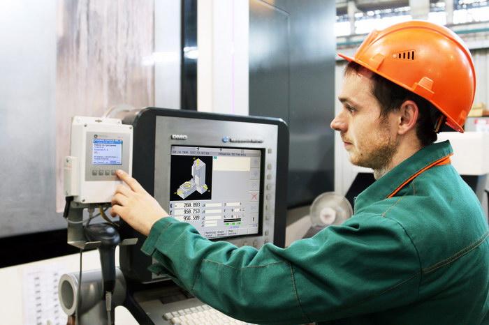 Система мониторинга работы оборудования, установленная на станки, НЭВЗ