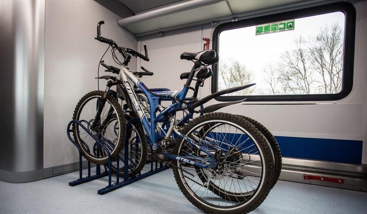 В поезд можно с велосипедом