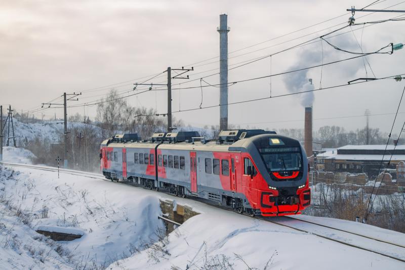 «Орлан» на Свердловской железной дороге. Источник: trainpix.org