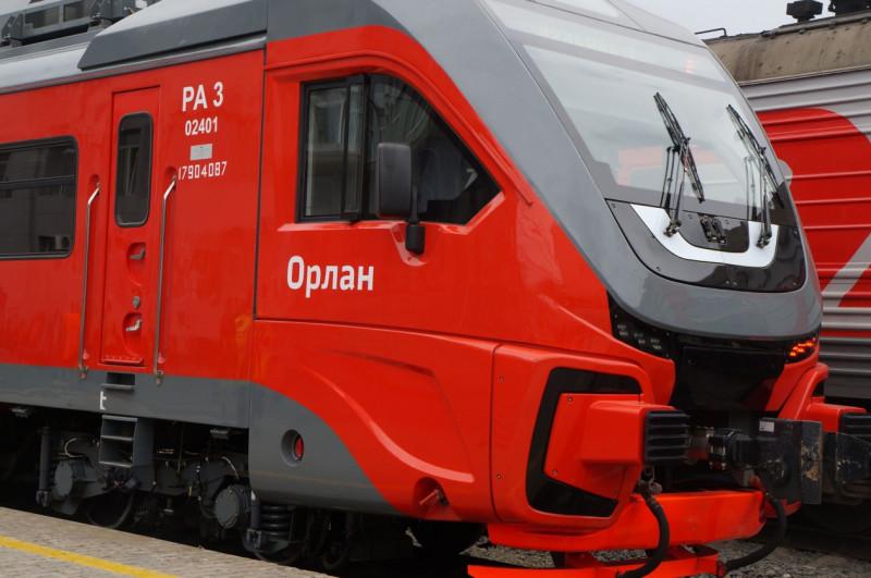 В 2020 году рельсовому автобусу РА-3 официально присвоено имя «Орлан». Источник фото: amurmedia.ru
