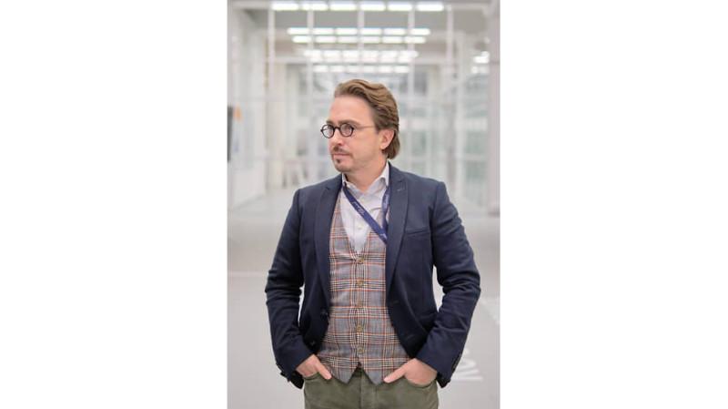 Шеф-дизайнер АО «Трансмашхолдинг» (ТМХ) Евгений Маслов