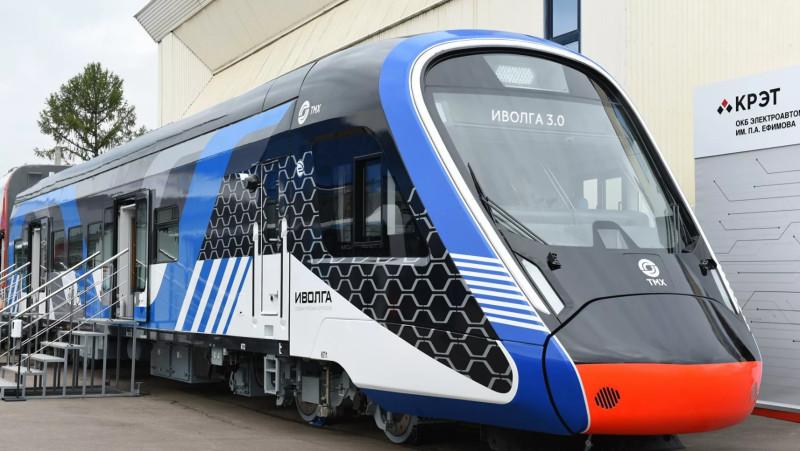 Презентация электропоезда Иволга 3.0 на Международном железнодорожном салоне PRO//Движение. Экспо