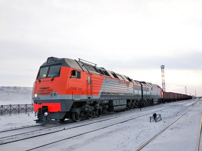 Магистральный грузовой тепловоз 2ТЭ25КМ
