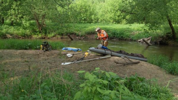 река сетунь в переделкино рыбалка