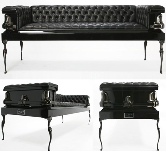 Coffin Couch Autum Heretic Coffin Couches Are Beyond Life And Death  Luxuguru