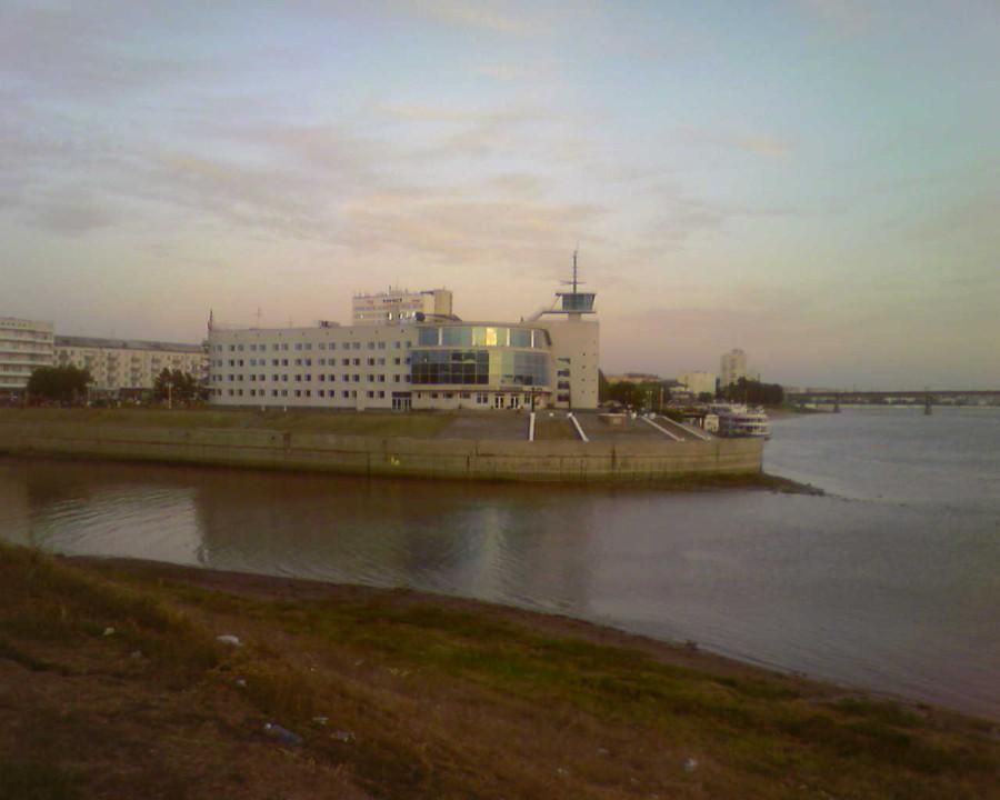 Речной вокзал в Омске