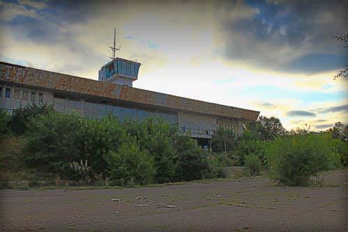речной вокзал в Семипалатинске