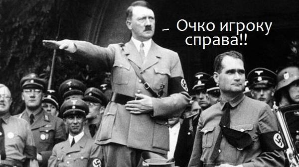 В США перед матчем исполнили гимн Германии времен Третьего рейха