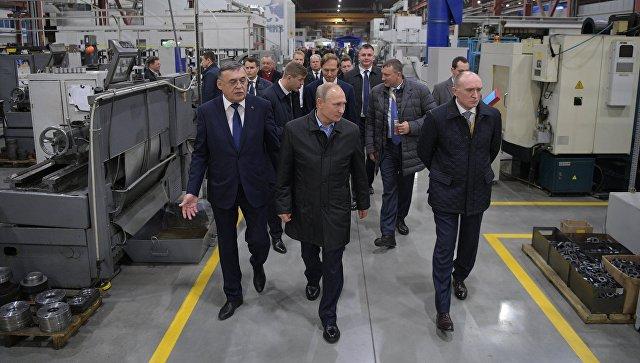 Россию ждет промышленный «Бум». Путин дал старт программе повышения производительности труда