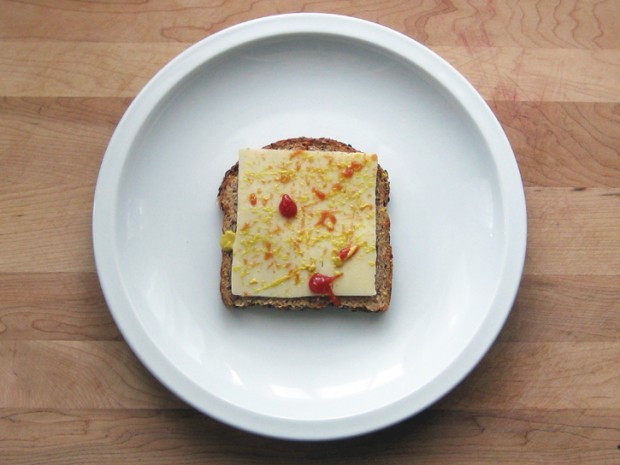 художественный бутерброд