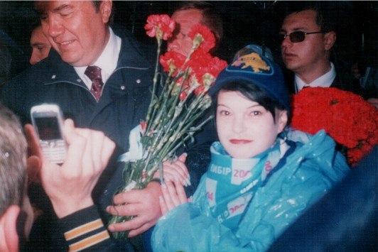 Шкода рядом с Януковичем.