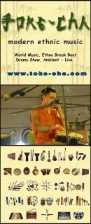 этническая музыка, фолк, world music - Toke-Cha band