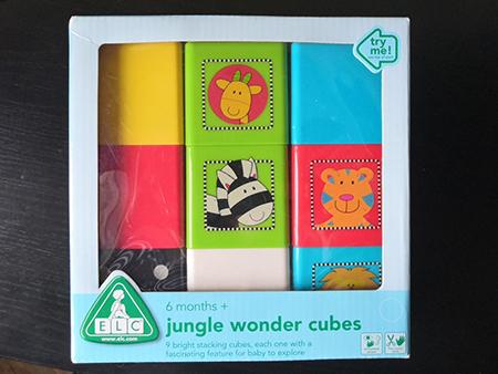 чудесные кубики elc с разными свойствами