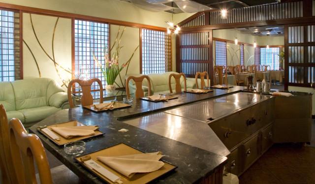 Ресторан ТОКИО - зал бамбук - теппан