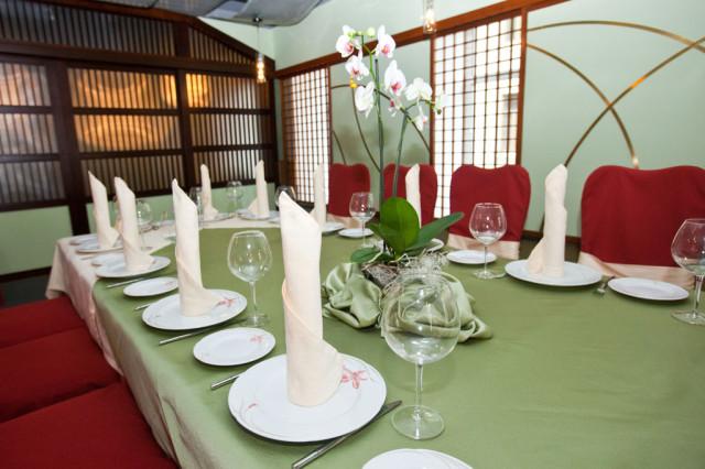 Ресторан ТОКИО - европейский зал - банкет