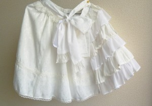 rose dress up skirt ivory 19