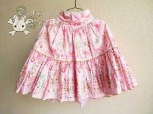 tokyo pirates sweetie chandelier skirt pink 1