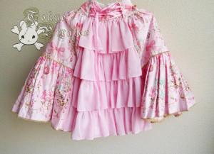 tokyo pirates sweetie chandelier skirt pink 3