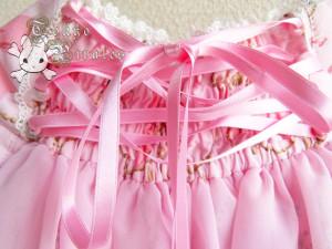 tokyo pirates sweetie chandelier skirt pink 4