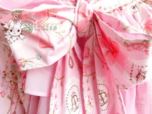 tokyo pirates sweetie chandelier skirt pink 7