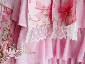 tokyo pirates sweetie chandelier skirt pink 8