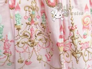tokyo pirates sweetie chandelier skirt pink 14