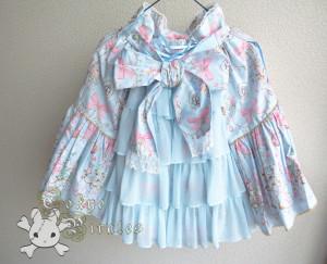 tokyo pirates sweetie chandelier skirt blue 3